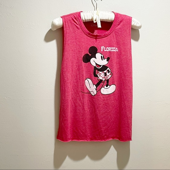 DISNEY FLORIDA Mickey Mouse Muscle Tank